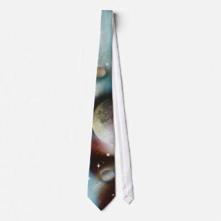 Espacio de Sci fi Corbatas Personalizadas