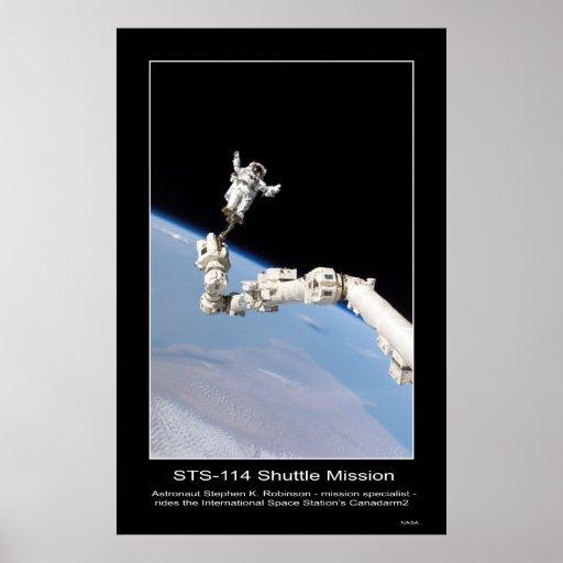 Espacio de Stephen K. Robinson International del a Póster