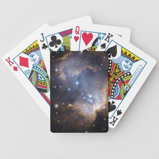 Espacio del cúmulo de estrellas N90 Hubble Barajas
