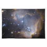 Espacio del cúmulo de estrellas N90 Hubble Manteles Individuales