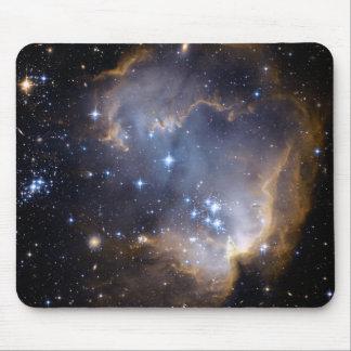 Espacio del cúmulo de estrellas N90 Hubble Tapete De Ratones