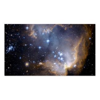 Espacio del cúmulo de estrellas N90 Hubble Tarjetas De Visita