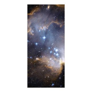 Espacio del cúmulo de estrellas N90 Hubble Tarjeta Publicitaria Personalizada