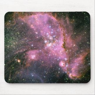 Espacio del cúmulo de estrellas NGC 346 Hubble Alfombrillas De Raton