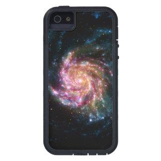 Espacio del espiral de la galaxia del molinillo de iPhone 5 funda