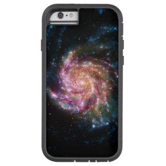 Espacio del espiral de la galaxia del molinillo de funda de iPhone 6 tough xtreme