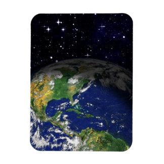 espacio del globo de la tierra del REALISMO de Iman De Vinilo