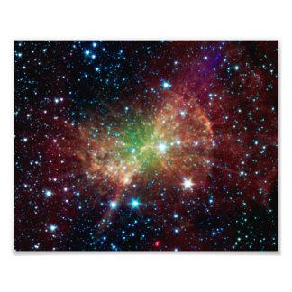 Espacio del infrarrojo de la nebulosa de la pesa d fotos