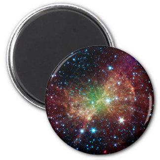 Espacio del infrarrojo de la nebulosa de la pesa d imanes de nevera