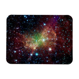 Espacio del infrarrojo de la nebulosa de la pesa d imán de vinilo