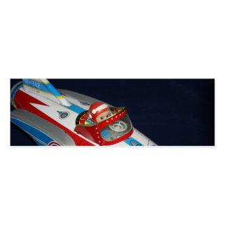 Espacio del juguete de la lata/marca de libro de tarjetas de visita mini