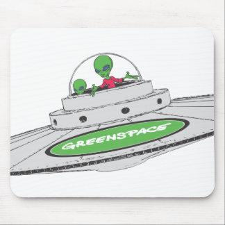 Espacio del UFO GreenSpace Mousepads