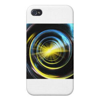 Espacio del wormhole iPhone 4/4S funda