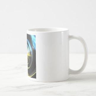 Espacio del wormhole taza básica blanca