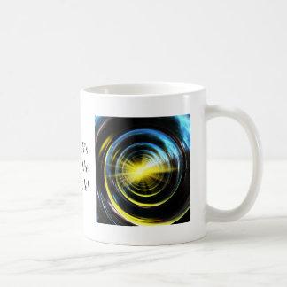 Espacio del wormhole taza de café