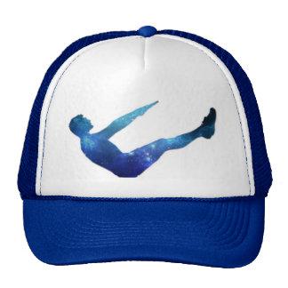 Espacio dentro gorra