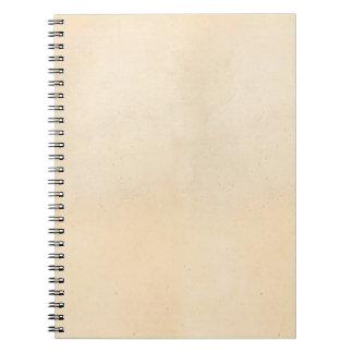 Espacio en blanco 1850 de la plantilla del papel libretas espirales