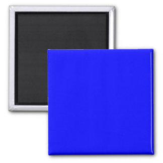 Espacio en blanco adaptable azul puro de la planti imán cuadrado