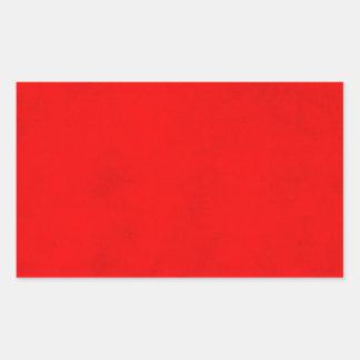 Espacio en blanco brillante del papel de pergamino pegatina rectangular
