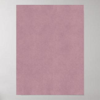 Espacio en blanco color de rosa polvoriento de la  póster