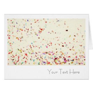 Espacio en blanco de gran tamaño del arte del tarjeta de felicitación grande