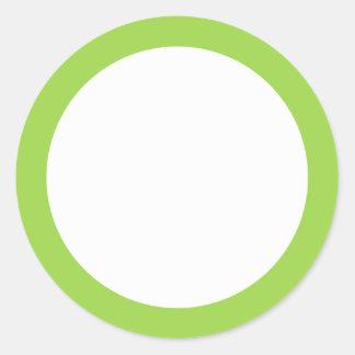 Espacio en blanco de la frontera del color sólido etiqueta