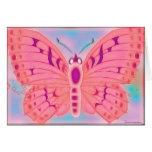ESPACIO EN BLANCO de la mariposa de los deseos Felicitacion