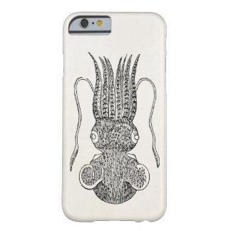 Espacio en blanco de la plantilla de los calamares funda de iPhone 6 barely there