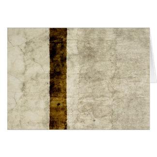 Espacio en blanco de la plantilla del pergamino tarjeta pequeña