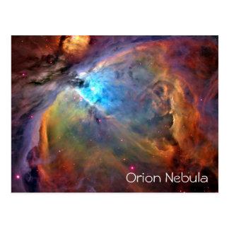 Espacio en blanco de la postal de la nebulosa de O
