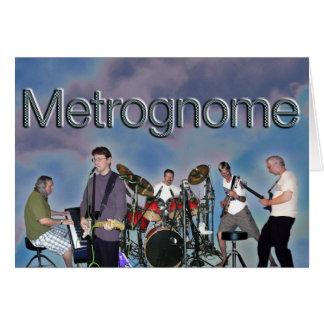 Espacio en blanco de la tarjeta de Metrognome