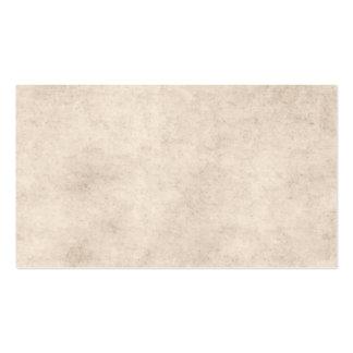 Espacio en blanco de papel de la plantilla del tarjetas de visita