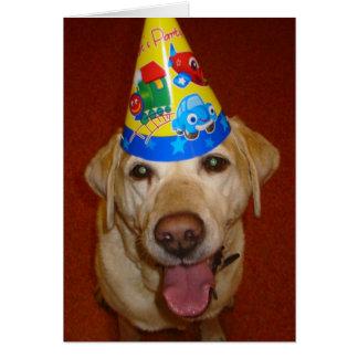 Espacio en blanco de Prima- del feliz cumpleaños d Tarjeton