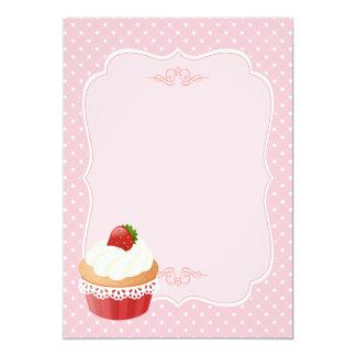 Espacio en blanco delicioso dulce del rosa de la comunicados