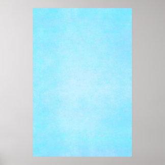 Espacio en blanco ligero azul de la plantilla de póster