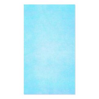 Espacio en blanco ligero azul de la plantilla de tarjetas de visita