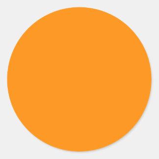 Espacio en blanco modificado para requisitos parti pegatinas redondas