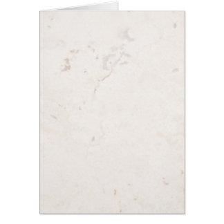 Espacio en blanco neutral de piedra de mármol del tarjeta de felicitación
