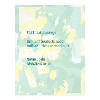 Espacio en blanco o personalizar de la compra de folleto 21,6 x 28 cm