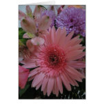 Espacio en blanco rosado y púrpura hermoso de las