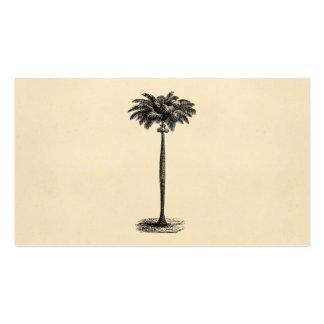 Espacio en blanco tropical de la plantilla de la p tarjetas de visita
