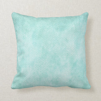 Espacio en blanco verde azul claro del fondo del cojines
