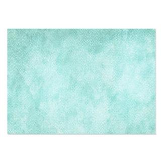 Espacio en blanco verde azul claro del fondo del tarjetas de visita grandes