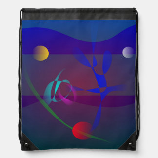 Espacio en el mar profundo mochilas