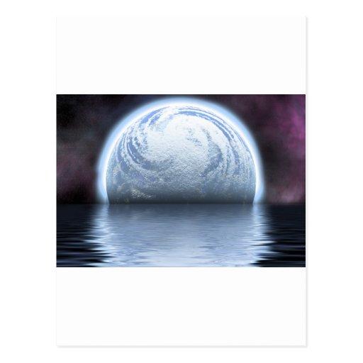 Espacio en su perspectiva postales