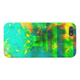 espacio en universo en pasillo iPhone 5 carcasas