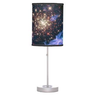 Espacio estrellado de la astronomía de la supernov lámpara de escritorio