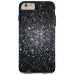 Espacio estrellado de la NASA del cielo del cúmulo Funda De iPhone 6 Plus Tough