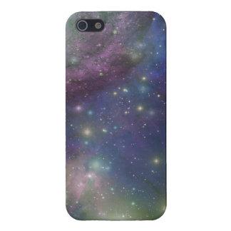 Espacio estrellas galaxias y nebulosas iPhone 5 fundas