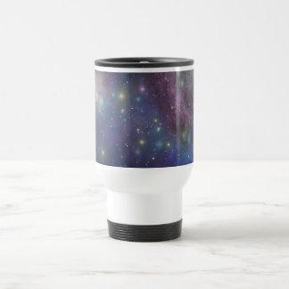 Espacio, estrellas, galaxias y nebulosas taza de café
